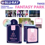 TWICE 2ND TOUR  TWICELAND ZONE 2 Fantasy Park  2Blu-ray