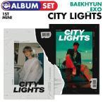 �ڥݥ�����(�ݤ��)�ա�¨��ȯ���ۡ� 2�糧�å� / EXO BAEKHYUN  �ߥ�1������Х� City Lights �ۡ������� �٥å���� ���� CD  ɬ�����ڹ���㡼��ȿ��