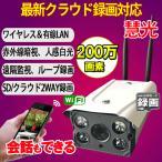 防犯カメラ 監視カメラ ワイヤレス 防水 室内 室外 スマホ・PCで遠隔監視 WiFi無線接続 IP WEB カメラ 暗視  SD内蔵 LS-C4