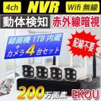 送料無料 防犯カメラ2台セット スマホ・PCで遠隔監視 WiFi無線接続可能 IP WEB カメラ 赤外線暗視防犯セキュリティ LS-F2-2set
