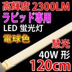 LED蛍光灯 40W形 ラピッド式専用 工事不要  電球色 120RAK-Y