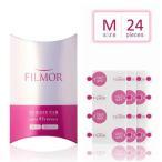フィルモア FILMOR 貼るUVブロック Mサイズ 直径15mm 24枚入り シールやテープを貼る要領で日焼け止めに使えます