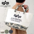 バッグ トートバッグ メンズ キャンバス 大容量 A4 大きめ ロゴ ビッグトートバッグ ALPHA INDUSTRIES アルファインダストリーズ #4010500