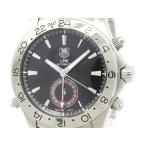 タグホイヤー リンク GMT タイガーウッズ ステンレススチール 自動巻き メンズ 時計 WJF2115 外装仕上げ済み
