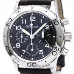 ブレゲ アエロナバル タイプXX ステンレススチール レザー 自動巻き メンズ 時計 3800