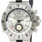 ブルガリ  ディアゴノ プロフェッショナル GMT ステンレススチール ラバー 自動巻き メンズ 時計 GMT40S 【中古】画像