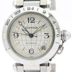 カルティエ  パシャC メリディアン ステンレススチール 自動巻き ユニセックス 時計 W31029M7 【中古】