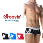 20%OFF メンズ 水着 スイムウェア ボクサータイプ Groovin\' AQUASAPIEN グルーヴィン グルービン 男性用水着 WC01 (メール便配送)