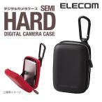 """エレコム デジカメケース セミハードタイプのデジタル カメラケース / デジカメケース """"GRAPH GEAR"""" ブラック┃DGB-046BK"""