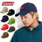 キャンプ 帽子 キャップ コールマン キャンプ ギア coleman 刺繍キャップ メンズ キャンプウエア レディース シンプル プレゼント ギフト 刺繍 帽子 アウトドア