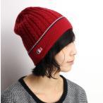 lacoste トリコロール ニット帽 メンズ 秋冬 ラコステ ユニセックス レディース ケーブル ニット 折り返し ワッチ 帽子 赤 レッド