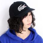 ショッピングラコステ ラコステ CAP 帽子 スポーツ ワニ 6方キャップ メンズ lacoste 鹿の子×メッシュ 黒 ブラック