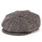 キャスケット ツイード ジェームスロック 八方 ハンチング クラシック james lock ウール 秋冬 帽子 Muirfield マルチカラー