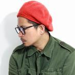 貝雷帽 - 秋冬 ブランド 小物 ウール ベレー帽 ニットベレー racal 日本製  ベレー帽 レディース ラスタベレー ベレー帽 メンズ 帽子/オレンジ