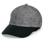 Mila Schon 春夏 ミラショーン ニットメッシュ メンズ 日本製 キャップ 麻素材 野球帽 上品 ブランド レディース/白 ホワイト