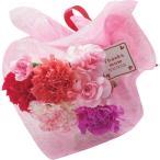 母の日 花 カーネーション花束とまるごとみかんゼリーのセット スイーツ プレゼント 贈り物 ギフト 数量限定 送料無料