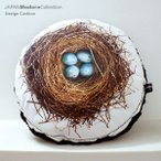 (GraphiCushion!) blue eggs (青い卵) クッション
