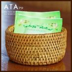 アジアン雑貨 アタ製円柱形の筒型ケース アジア工房