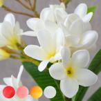 造花 枝付きプルメリアフランジパニ 4色展開