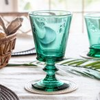 コップ グラス ゴブレット 脚付き 蜂 ギフト ガラス食器 ガラスコップ カップ ワイン 240ml おしゃれ フランス製 キッチン用品 98305