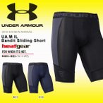 スライディングパンツ アンダーアーマー UNDER ARMOUR UA M IL Bandit Sliding Short メンズ コンプレッション 野球 ベースボール インナー 2018春夏新作