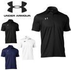 送料無料 半袖 ポロシャツ メンズ アンダーアーマー UNDER ARMOUR ロゴ シャツ ランニング ゴルフ トレーニング スポーツ ウェア 1314092 得割10