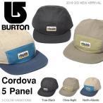 ショッピングバートン キャップ バートン BURTON Cordova 5 Panel メンズ CAP 帽子 スケート スノーボード スノボ スノー アウトドア 2018春夏新作 20%off