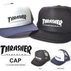 THRASHER スラッシャー メッシュキャップ CAP メンズ レディース 17th-c67 ロゴ刺繍 帽子 スナップバック 20%off