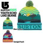 【最大23%還元】 キッズ ニット帽 バートン BURTON ジュニア 子供 男の子 帽子 ビッグロゴ ビーニー スノーボード スキー