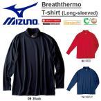一番寒いときのブレスサーモ ハイネック 長袖シャツ ミズノ MIZUNO メンズ ブレスサーモ スタンダードフィット  得割30