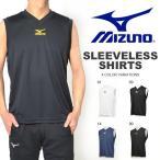 ノースリーブシャツ ミズノ MIZUNO Tシャツ メンズ ワンポイント 吸汗速乾 ランニング ジョギング トレーニング スポーツウェア 得割20