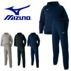 ショッピングミズノ スウェット 上下セット ミズノ MIZUNO メンズ スウェットシャツ パンツ 上下組 プルオーバー パーカー トレーナー トレーニング ウェア 得割20 送料無料