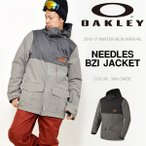 スノーボード ウェア OAKLEY オークリー NEEDLES BZI JACKET  メンズ スノー ジャケット スノボ スキー 2016-2017冬新作 SNOWBOARD グレー 日本正規品