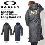 ベンチコート OAKLEY オークリー メンズ Enhance Wind Warm Long Coat 7.3 防寒 トレーニングウェア アウター 日本正規品 2017秋冬新作