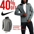 パーカー ナイキ NIKE メンズ THERMA-FIT スフィア フルジップ フーディ トレーナー ジャケット トレーニング スポーツウェア 40%off