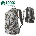 ロゴス LOGOS バックパック メンズ レディース CADVEL-Design17 カモフラ 17L 超軽量 リュックサック デイパック 88250146