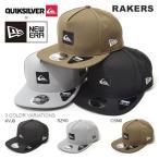 キャップ QUIKSILVER NEW ERA クイックシルバー ニューエラ コラボ メンズ RAKERS ロゴ 帽子 CAP 2017秋冬新作