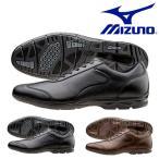 ショッピングウォーキングシューズ ウォーキングシューズ ミズノ MIZUNO メンズ LD40 CROSS 本革 レザー ビジネスシューズ 革靴 得割10