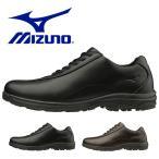 ウォーキングシューズ ミズノ MIZUNO メンズ LD40V SW ビジネス シューズ  スニーカー 紐 靴 幅広 4E B1GC1918 得割21
