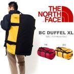 ショッピングダッフル 大容量 132リットル ザ・ノースフェイス THE NORTH FACE BC DUFFEL XL ベースキャンプ ダッフル ボストンバッグ ショルダーバッグ 旅行 20%off