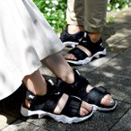 ナイキ スニーカー サンダル レディース NIKE ウィメンズ CANYON キャニオン サンダル ストラップ ビーチサンダル スポサン シューズ 靴 ブラック cv5515