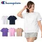 国内正規品 半袖 Tシャツ チャンピオン Champion レディース CREW NECK T-SHIRT 無地 スポーツ CW-M322