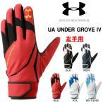 アンダーアーマー UNDER ARMOUR UA アンダーグローブIV 左手用 メンズ 野球 ベースボール 手袋 守備用 送料無料
