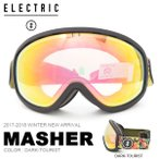 ショッピングゴーグル ゴーグル ELECTRIC エレクトリック MASHER マッシャー アジアンフィット 日本正規品 スノボ スノー ボード 2017-2018冬新作 17-18 得割25
