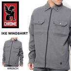 ショッピングSHIRTS アイク ウィンドシャツ クローム CHROME メンズ IKE WIND SHIRTS ジャケット 送料無料 得割34