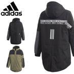 30%off アディダス ジャケット adidas B S2S LONG COAT ジュニア 子供 フード付き 中綿 ロング コート 防寒対策 3本ライン IXF67