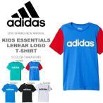 キッズ 半袖 アディダス adidas KIDS Boys エッセンシャルズ リニアロゴ Tシャツ 子供 ジュニア 男の子 子供服 スポーツ 41%off