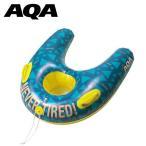 アクア AQA 水中のぞきフロート 4歳から12歳まで キッズ ジュニア 子供用 フロート 浮き輪 ボート 得割21 KA-9109