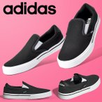 45%OFF アディダス スニーカー レディース スリッポン adidas KURIN W デッキシューズ カジュアル シューズ 靴 H04969 ブラック 黒