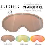 ショッピングゴーグル 交換用レンズ ELECTRIC エレクトリック CHARGER XL チャージャー エックスエル ゴーグル 日本正規品 スペア スノボ スノー ボード 平面
